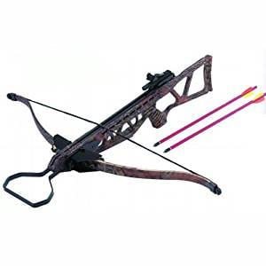 Wizard Archery 130 lbs Foldable Hunting Crossbow Package with 7 x 14'' Aluminum Arrows and 4 x 20 Scope