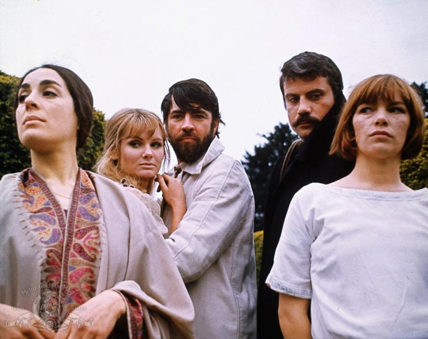 alan-bates,-oliver-reed,-eleanor-bron,-glenda-jackson,-and-jennie-linden-in-women-in-love-(1969)