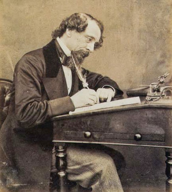 dickens-writes-letter