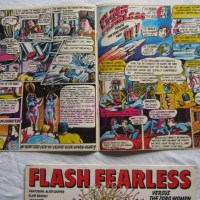 Flash Fearless Vs The Zorg Women: A Forgotten 1970s Comic Book Rock Opera