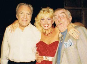 Donald Sinden and Windsor Davies