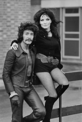 Peter Wyngarde and Kate O'Mara