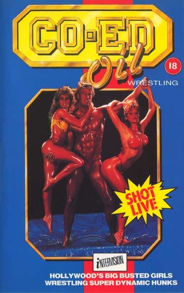 coed-oilwrestling