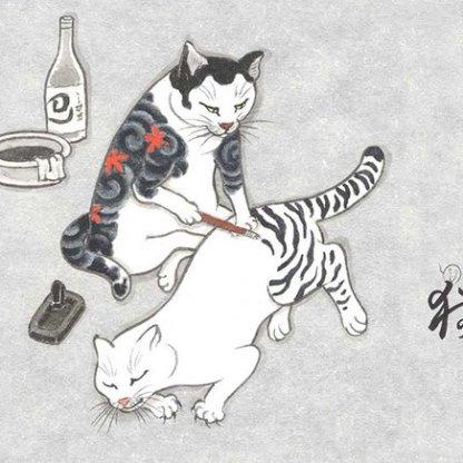 monmon-cats-Kazuaki-Horitomo-3