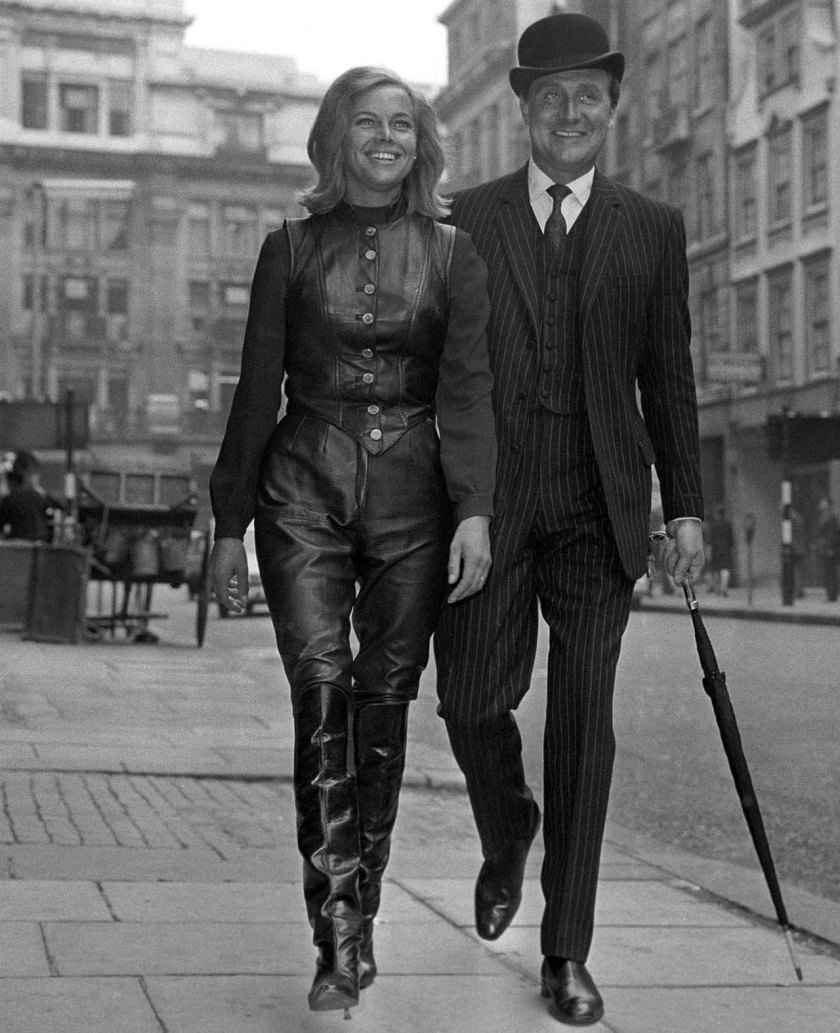 patrick-macnee-honor-blackman-the-avengers