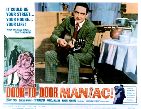 DOOR TO DOOR MANIAC, (aka FIVE MINUTES TO LIVE), Johnny Cash, 1961