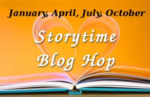Story Time Blog Hop Logo