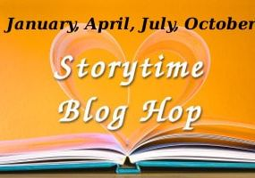 Story Time Blog Hop Logo