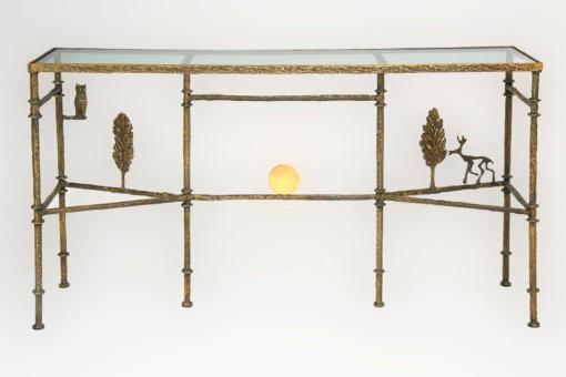 Giacometti Cypress Trees and Sun