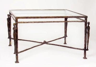 Giacometti Caryatids Tea Table