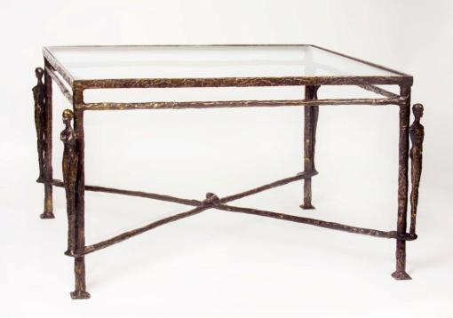 Giacometti Caryatids Bronze Table