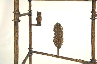 Giacometti Cypress Tree Console Detail