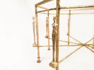 Diego Giacometti Caryatids Octagonal details