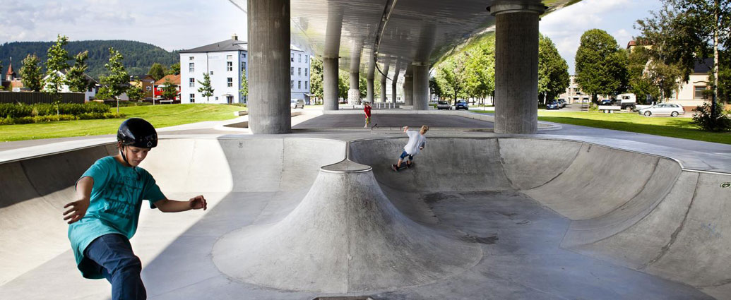 Bruparken Motorway Underpass