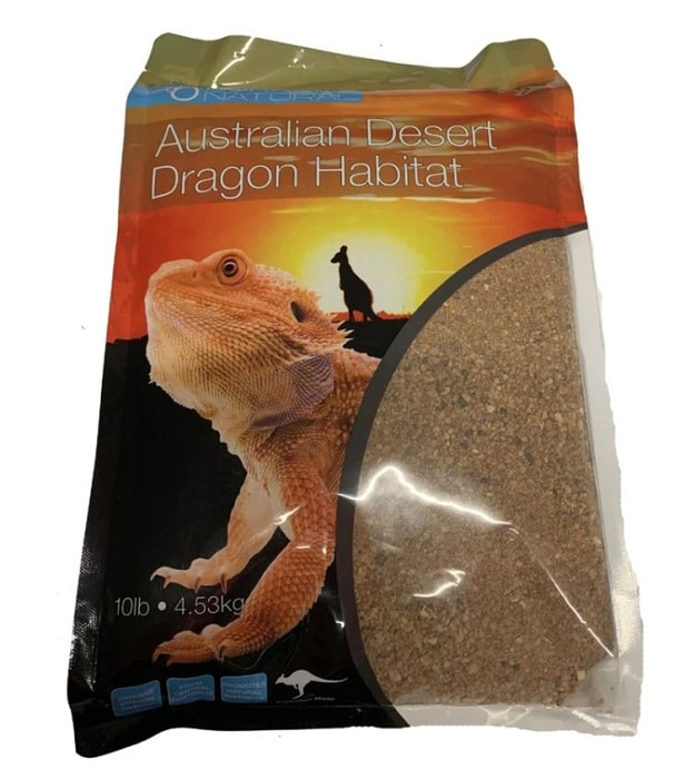 australian desert dragon habitat - bearded dragon substrate