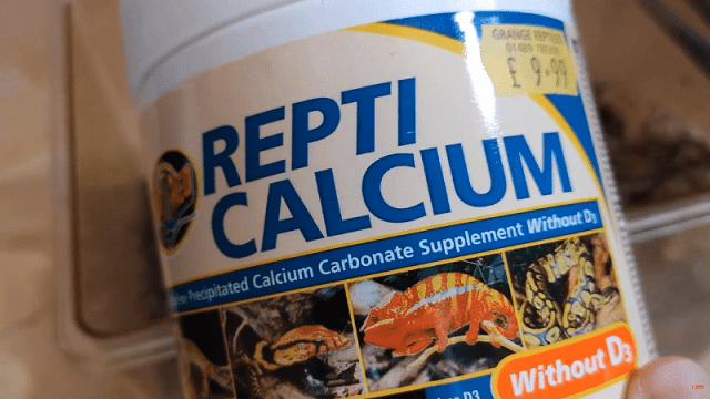 Zoo Med Repti Calcium powder supplement