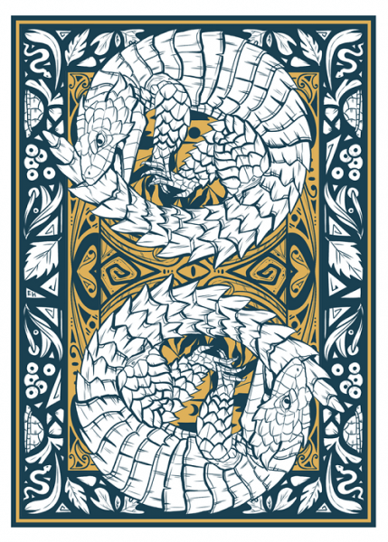 gifts for reptile lovers 2019 - reptile playing cards