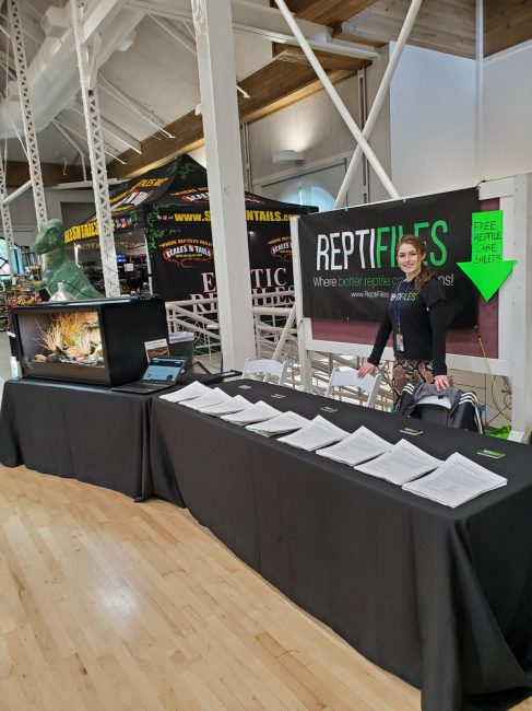 ReptiFiles at the Fall 2019 Wasatch Reptile Expo