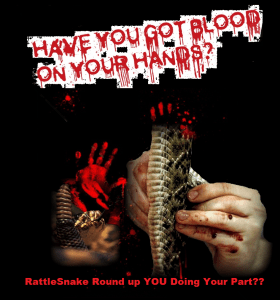 Have you got blood on your hands?