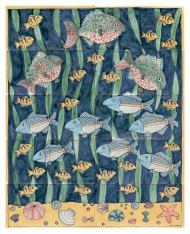 Fish Tile panel