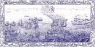 Spanish Armada tile panel