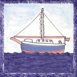 Boat tile 8