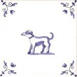 Delft Animal tile 18