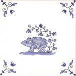 Delft Animal tile 7