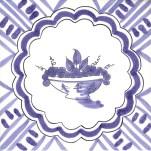 Fruitt & Flowers Tile 10