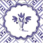 Fruit & Flowers Tile 16