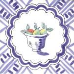 Fruit & Flowers Tile 19