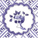 Fruit & Flowers Tile 8