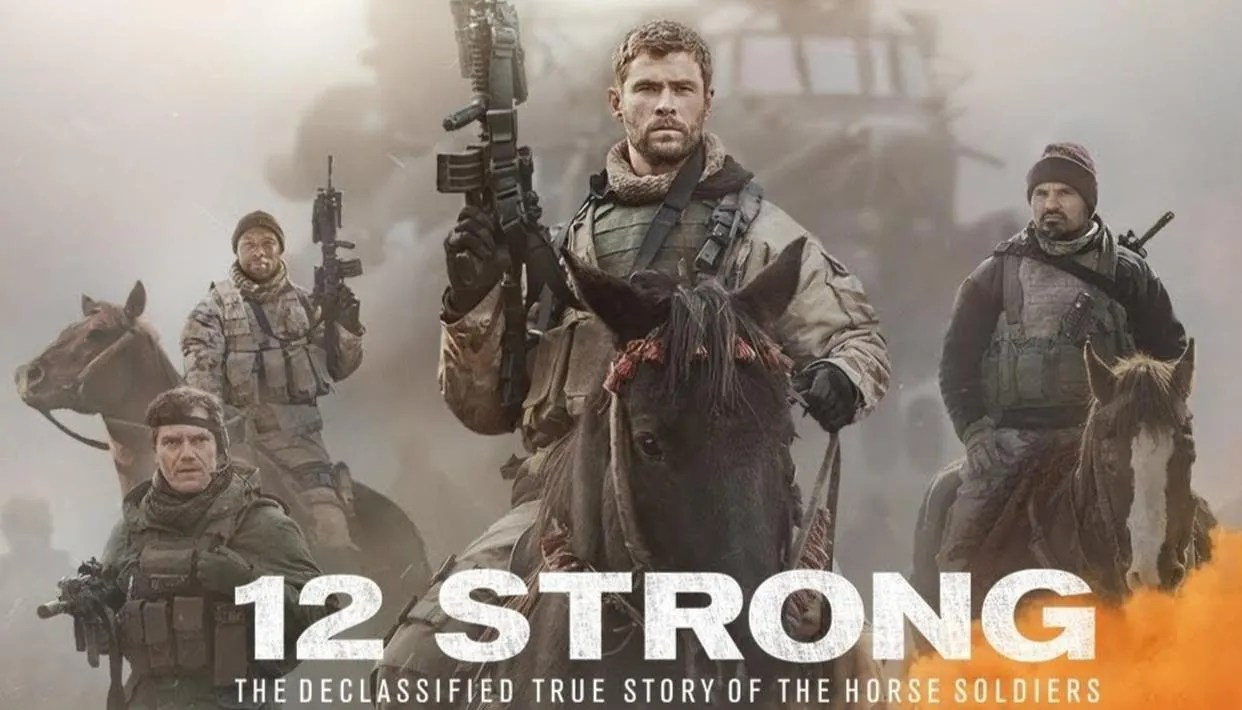 '12 Strong' Movie review : It's a war of horsemen against tanks - Republic World