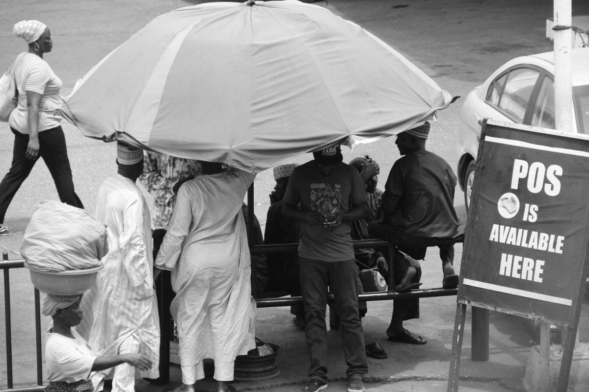 Black Market, 2018 : Monochrome Lagos. LOGO OLUWAMUYIWA