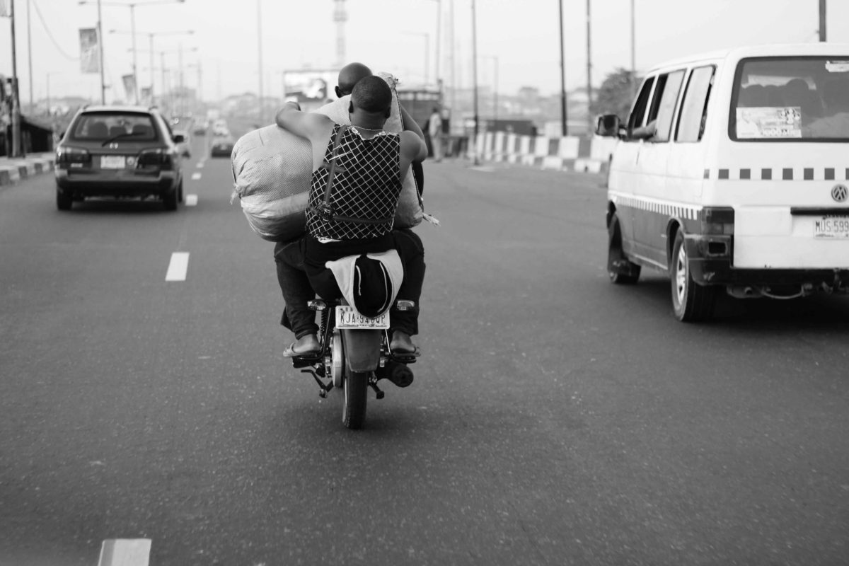Monochrome Lagos photo