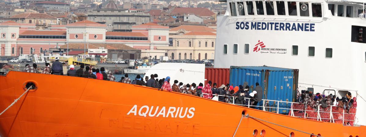 Réaction de la Fédération sur la déclaration de messieurs Simeoni et Talamoni au sujet de l'Aquarius