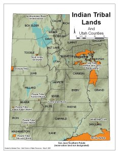 Tribal Lands in Utah
