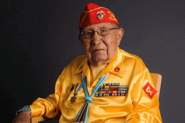 Navajo Nation Code Talker David Patterson Sr. (Photo: Navajo Nation)