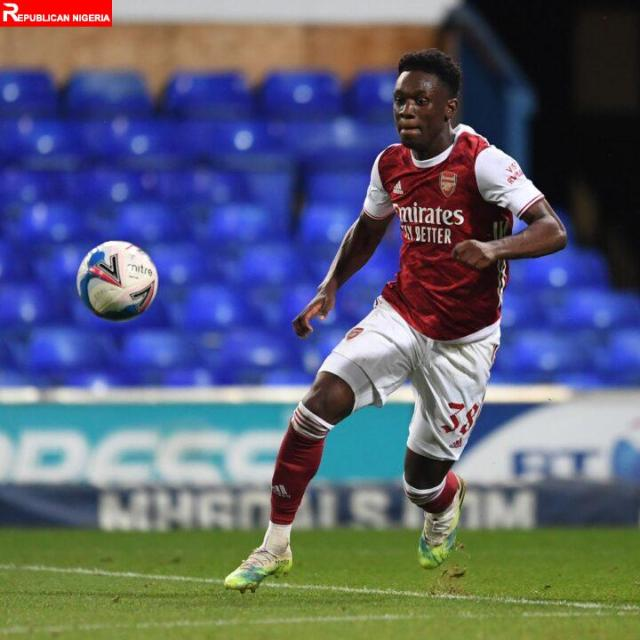 Folarin Balogun among Four Arsenal youngsters for January loan moves