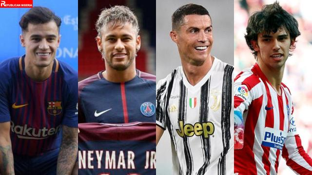 most expensive football transfers of all time