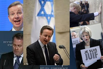 Britain puppet state for Israel