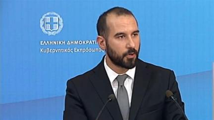 Greece's government spokesman Dimitris Tzanakopoulos