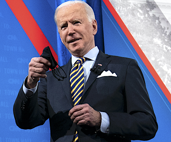 Joe Biden Hopeful Pandemic Looks Different in a Year, but No Promises