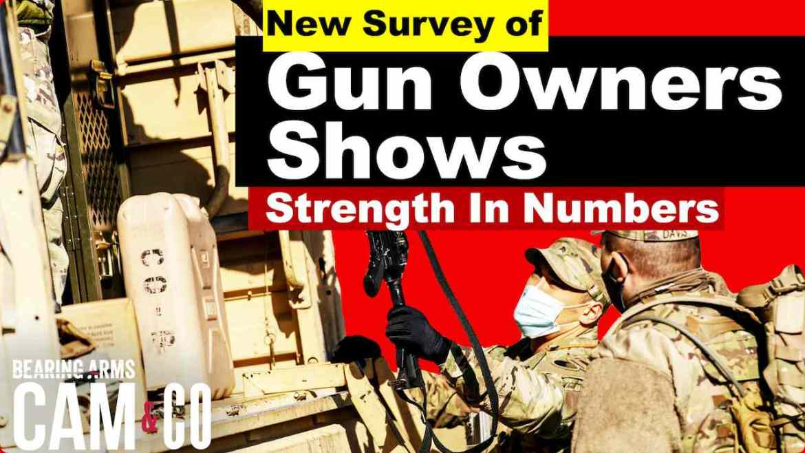 New Survey Of Gun Owners Shows Strength In Numbers