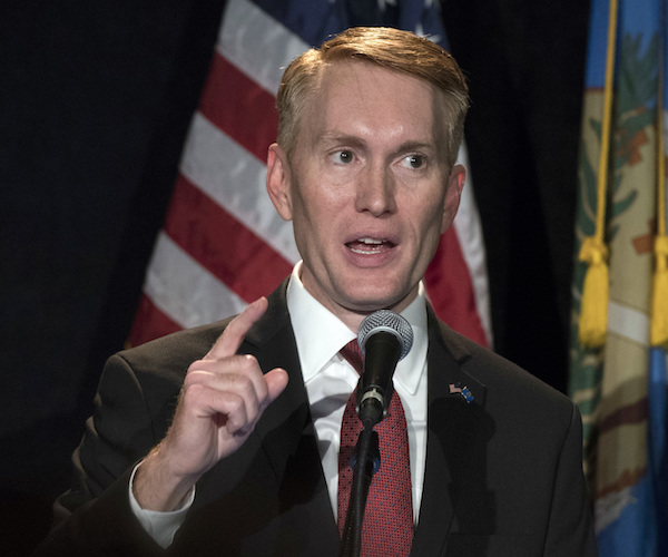 Sen. James Lankford to Newsmax TV: Slowing Down COVID Bill by Forcing Clerks to Read It