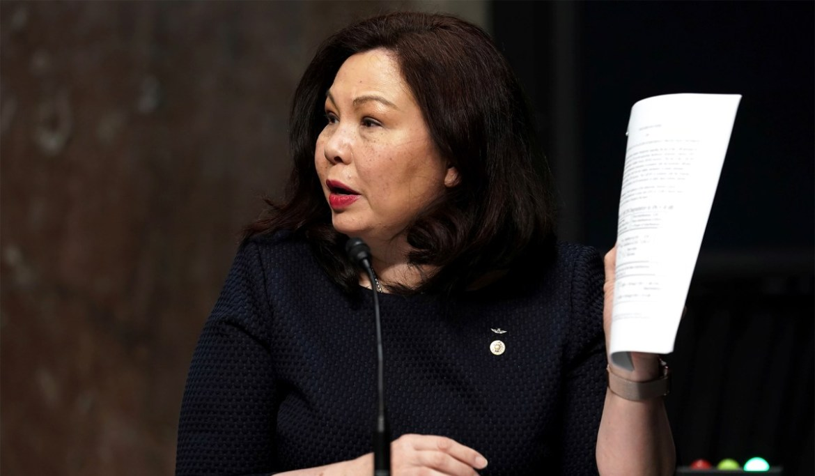 Asian-American Nominees — Tammy Duckworth Refuses to Back Biden Nominees Until He Appoints