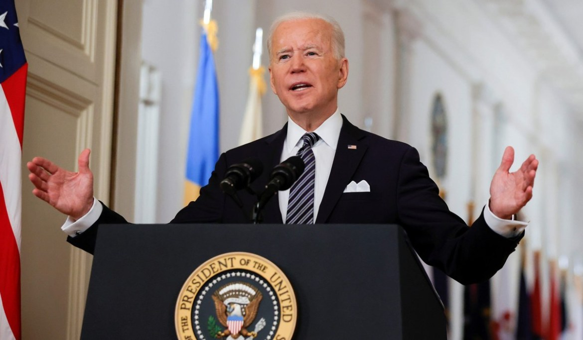 President Biden Predicts 'Independence from the Virus' by July 4 in COVID-Anniversary Address