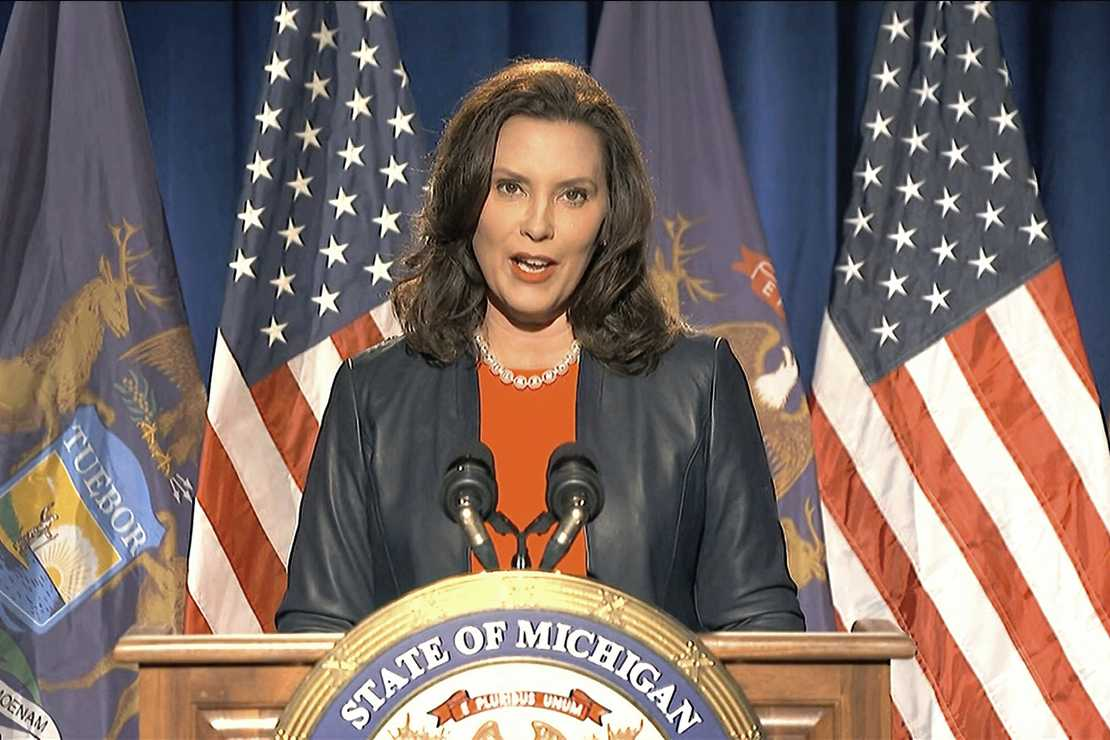 Gov. Gretchen Whitmer: Shut Down in-Person Sports, Stop Indoor Gatherings, and Eliminate Dining in