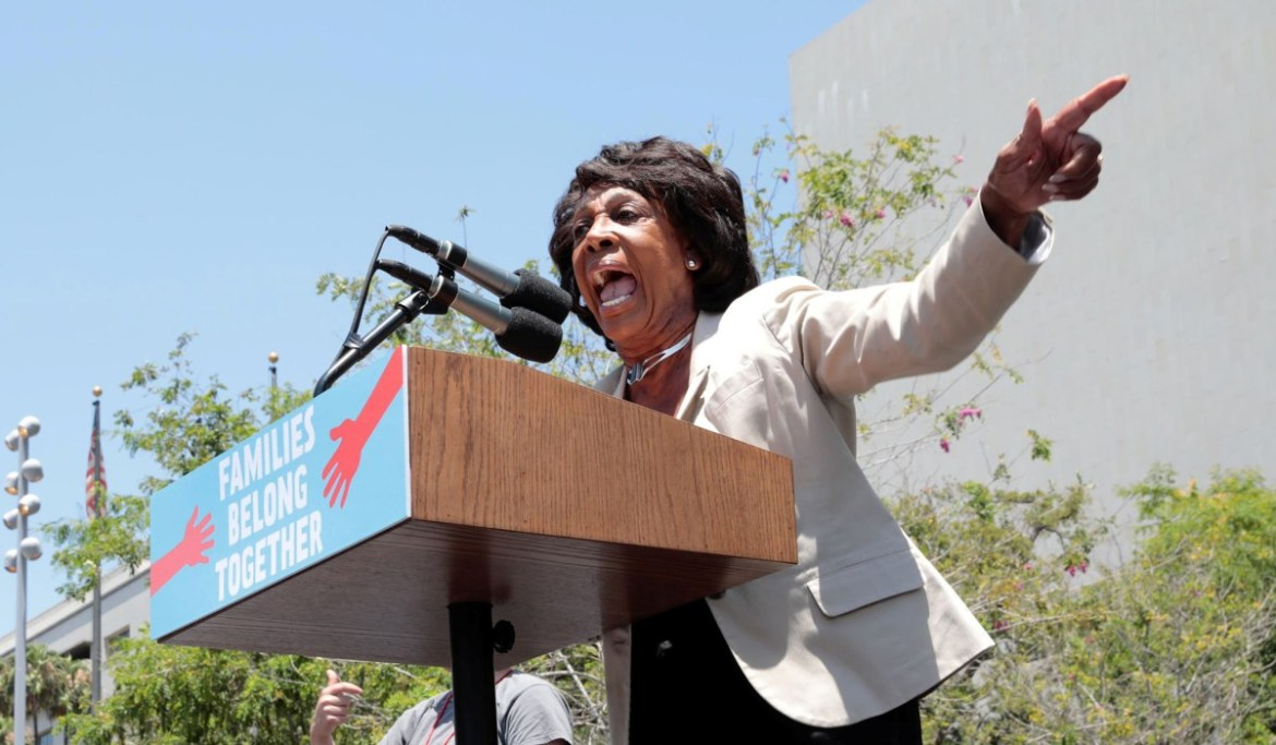 Maxine Waters: Protesters Stay in Street