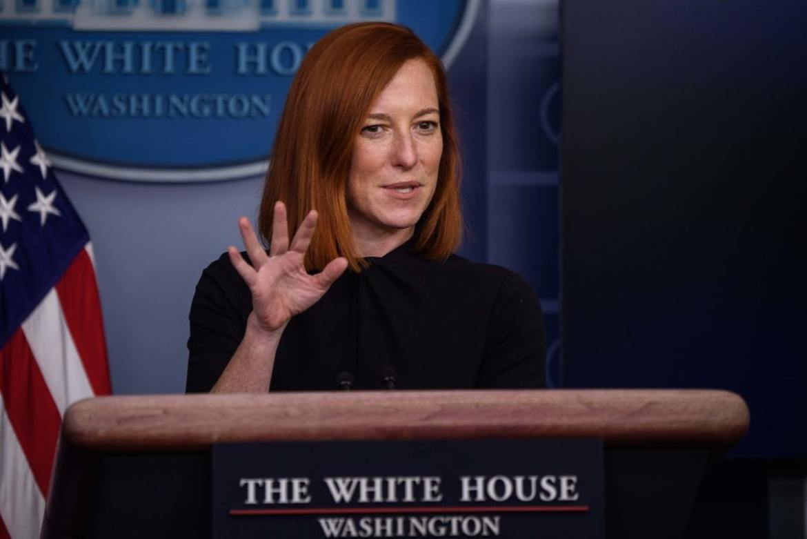 Jen Psaki Says Americans Only Think There's A Border Crisis Because Of The Media